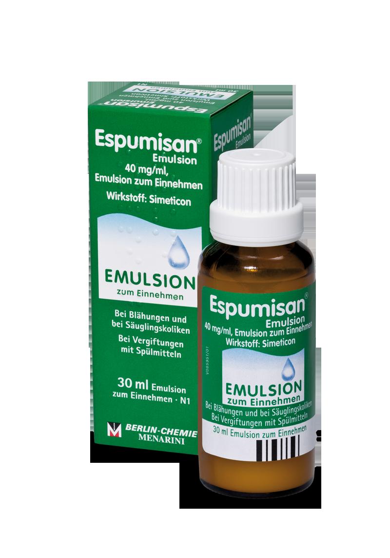 Espumisan® Emulsion <br>(Tensidvergiftung)