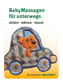 PocketPoster Babymassagen